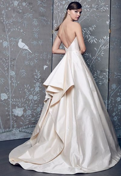 Classic Ball Gown Wedding Dress by Romona Keveza