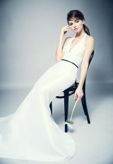 Classic Fit And Flare Wedding Dress by Romona Keveza - Image 1