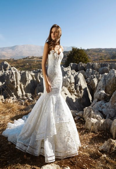Couture Mermaid Wedding Dress by Tony Ward