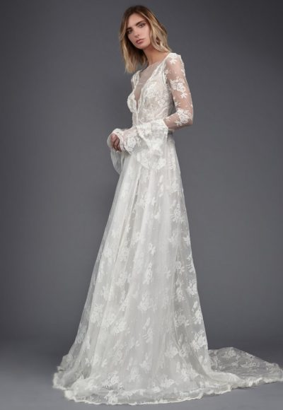 Bohemian A-line Wedding Dress by Victoria Kyriakides
