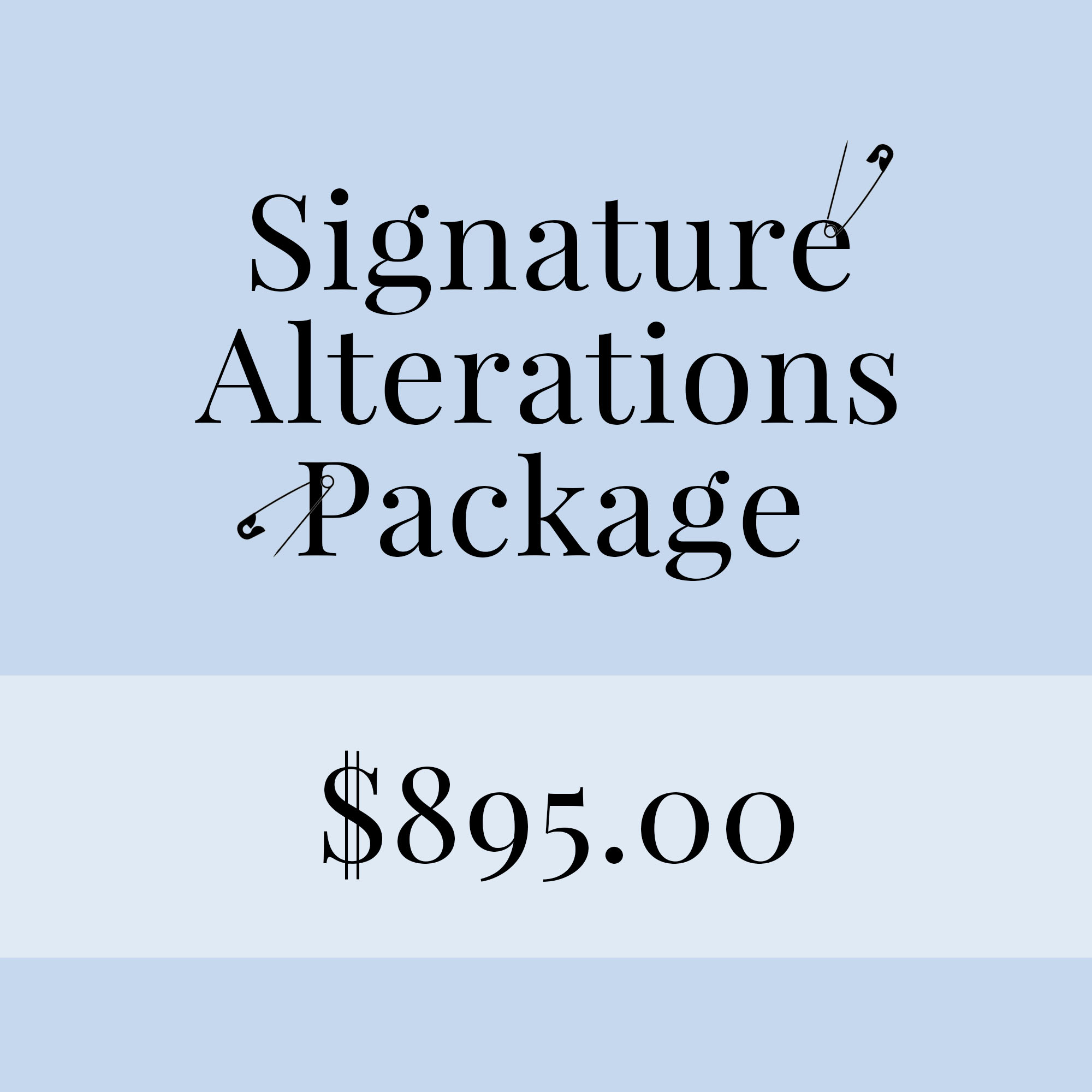 Alterations Pricing Image $895