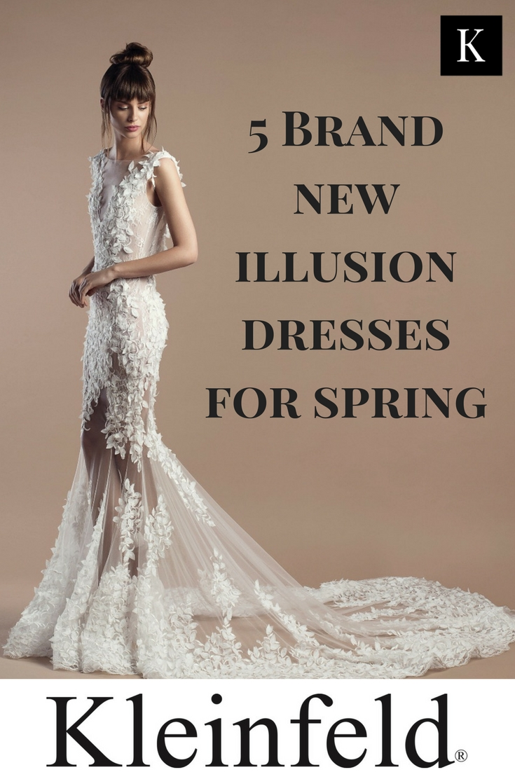 5 Brand New Illusion Dresses for Spring