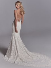 Sexy Back All Lace Sleeveless Wedding Dress by Maggie Sottero - Image 2