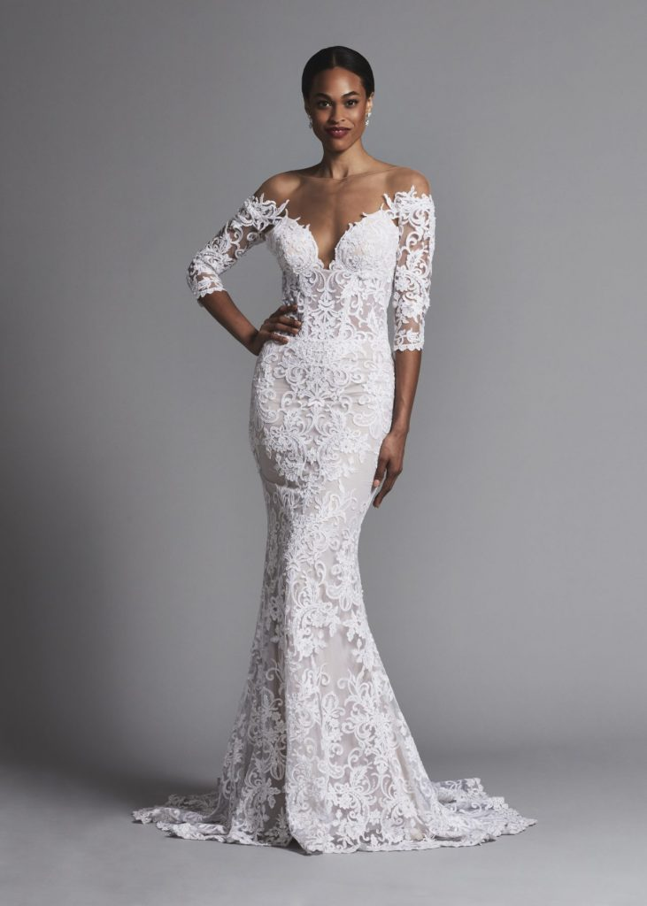 pnina-tornai-sexy-off-the-shoulder-all-lace-3-4-sleeve-sheath-wedding-dress-33659632-1285x1800