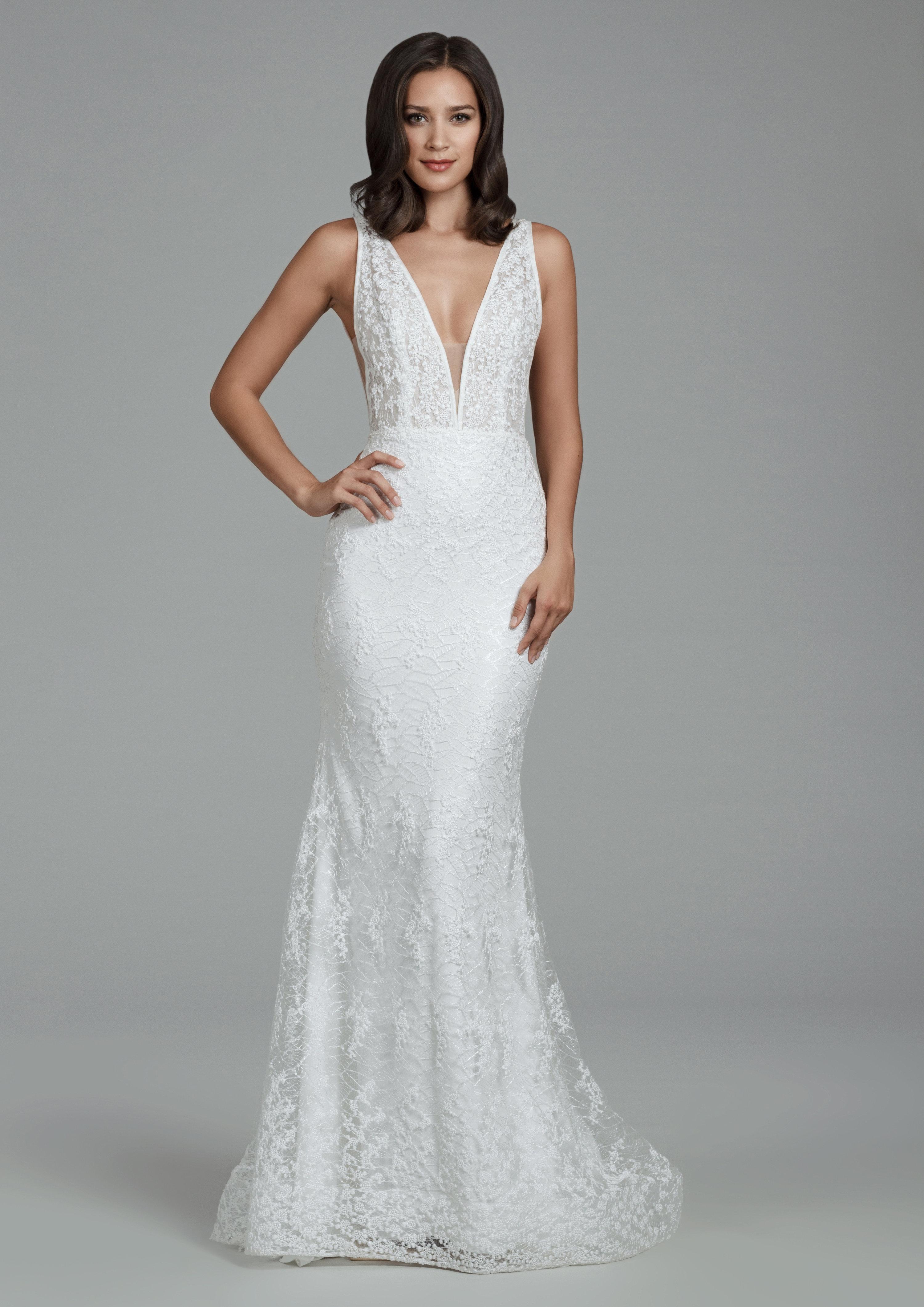 Romantic Sheath Wedding Dress Kleinfeld Bridal