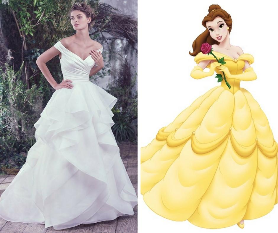 How to Dress Like a Disney Princess on Your Wedding Day | Kleinfeld ...