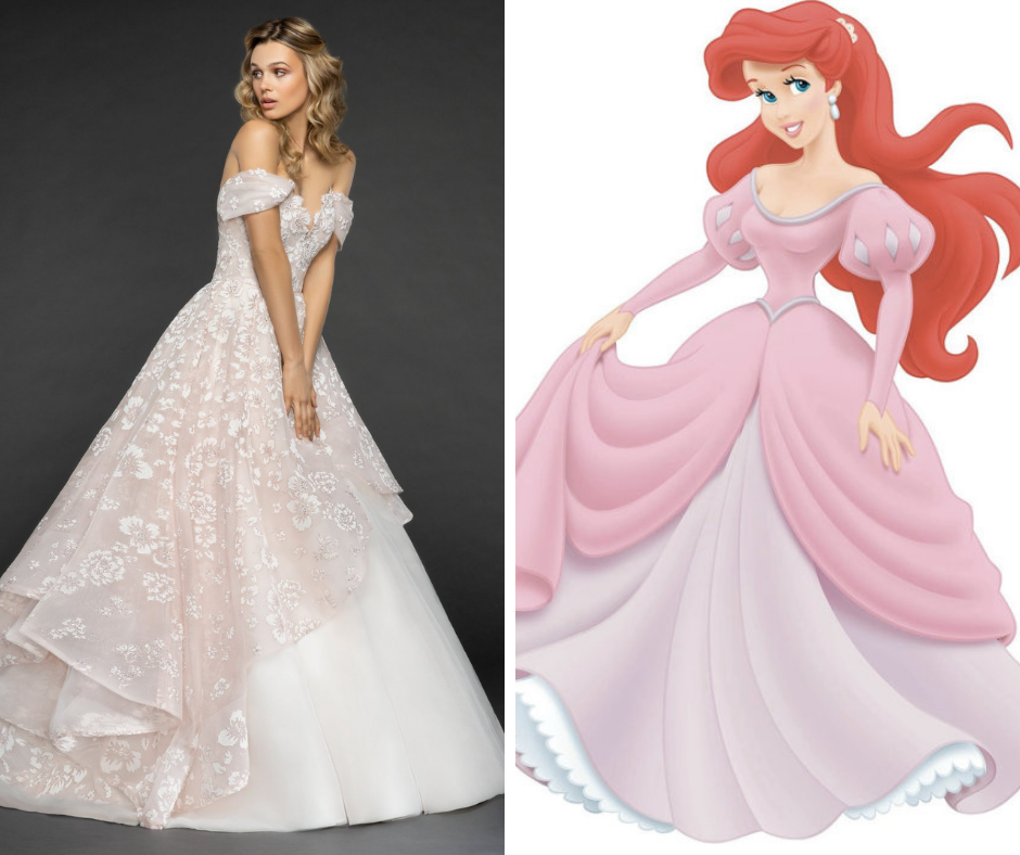 Princess Style Wedding Gowns: How To Dress Like A Disney Princess On Your Wedding Day