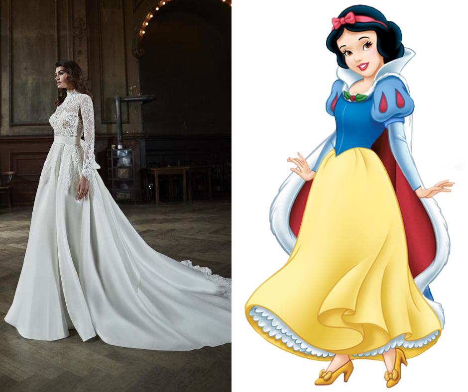 Disney Princess Wedding Dresses—Snow White