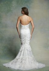 Beaded Sweetheart Neck Fit And Flare Wedding Dress by Enaura Bridal - Image 2