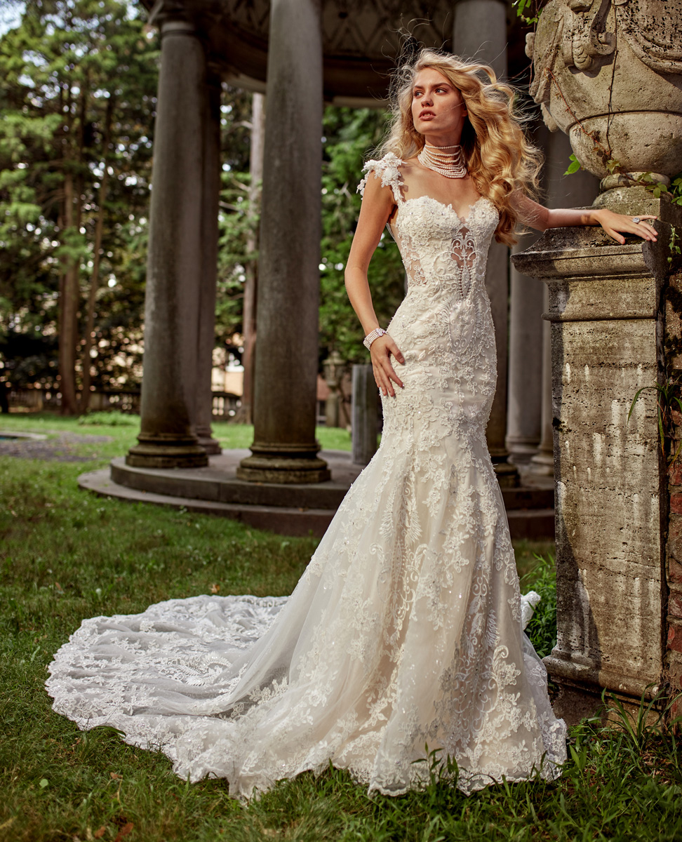 beachy wedding dresses sweetheart neck with embellished spaghetti straps and 1605
