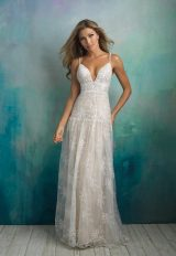 Bohemian A-line Wedding Dress by Allure Bridals - Image 1