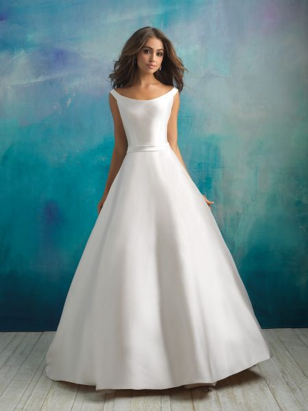 Classic Ball Gown Wedding Dress by Allure Bridals - Image 1