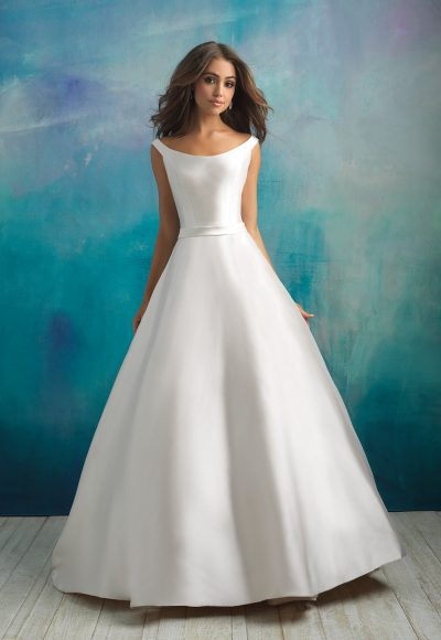 Classic Ball Gown Wedding Dress by Allure Bridals