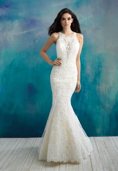 Classic Mermaid Wedding Dress by Allure Bridals