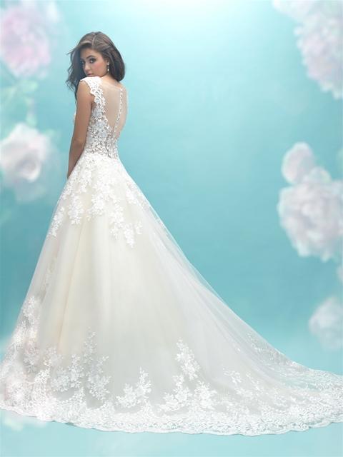 Sweetheart Neck Lace Sleeveless Ball Gown Wedding Dress   Kleinfeld ...