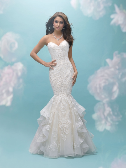 Sweetheart Ruffled Bottom Mermaid Wedding Dress | Kleinfeld Bridal