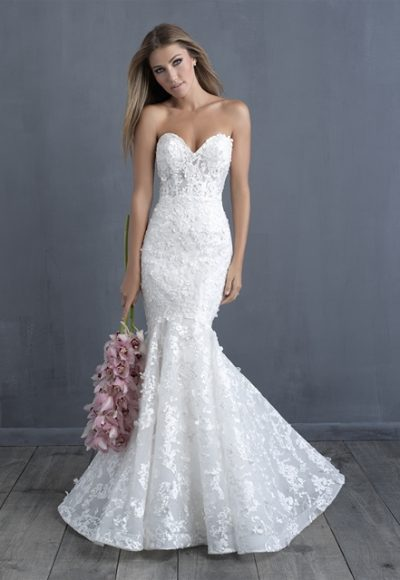 Trendy Mermaid Wedding Dress by Allure Bridals