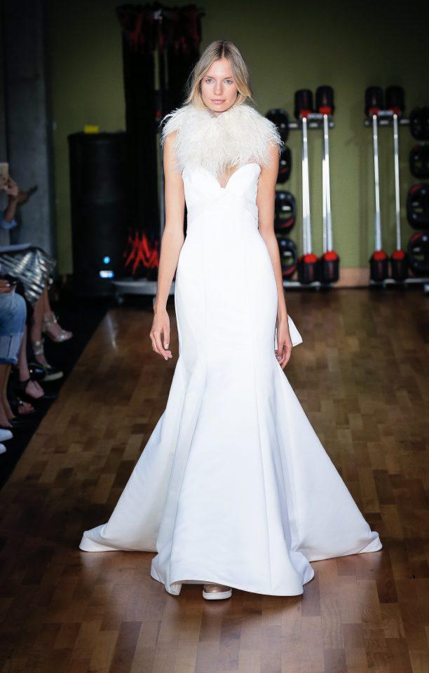 Wrapped Wedding Dress