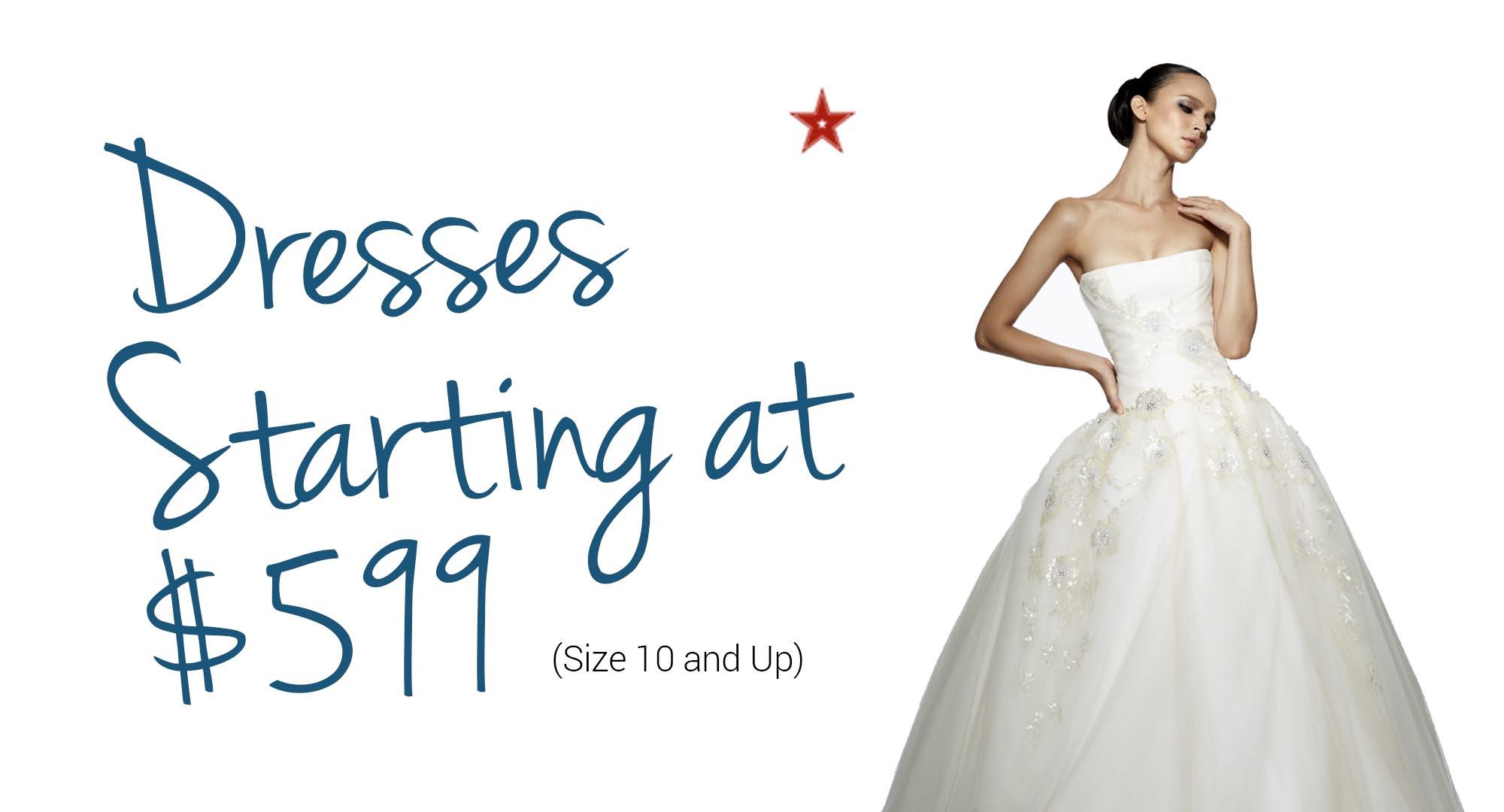 dresses starting at 599