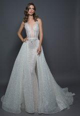Detachable Sparkle Overskirt by Love by Pnina Tornai - Image 1