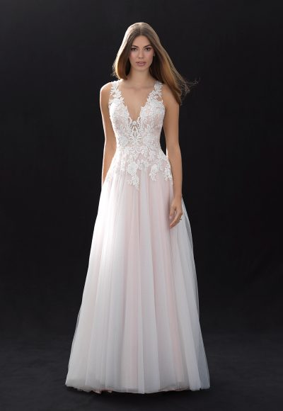 Romantic A-line Wedding Dress by Madison James