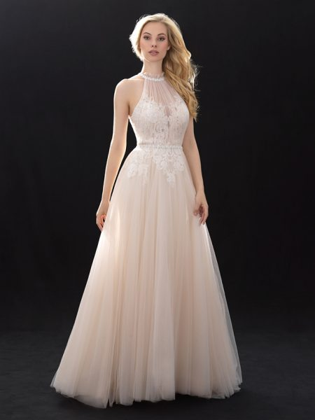 Romantic A-line Wedding Dress by Madison James - Image 1