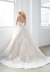 Strapless Sweetheart Lace Ball Gown Wedding Dress by Madison James - Image 2