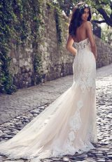 Beaded Lace Strappless Sweetheart Wedding Dress by Maggie Sottero - Image 2