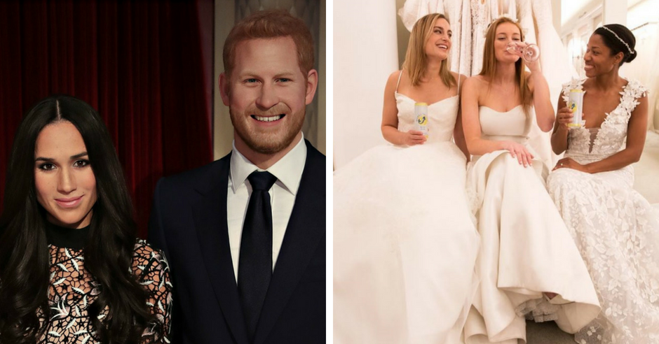 Wedding of Meghan Markle and Prince Harry Spiked Seltzer