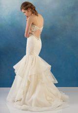 Beaded Bodice Mermaid Lace And Organza Wedding Dress by Alyne by Rita Vinieris - Image 1