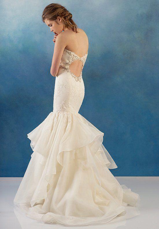 Beaded Bodice Mermaid Lace And Organza Wedding Dress | Kleinfeld Bridal