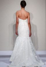 Sweetheart Neck Lace Mermaid Wedding Dress by Dennis Basso - Image 2
