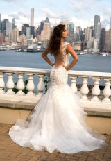 Beaded Sweetheart Bodice With Ruffled Skirt Wedding Dress by Eve of Milady - Image 2