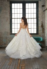 Strapless Lace Applique Ball Gown Wedding Dress by Isabelle Armstrong - Image 2
