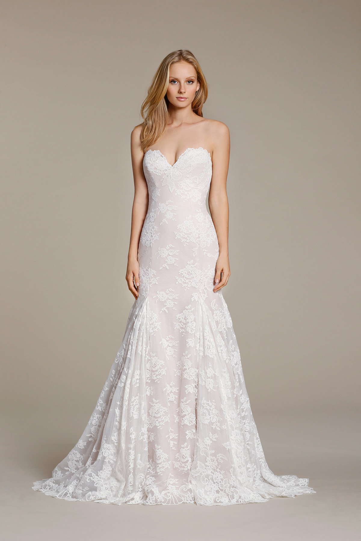 Sweetheart Lace Fit And Flare Wedding Dress Kleinfeld Bridal