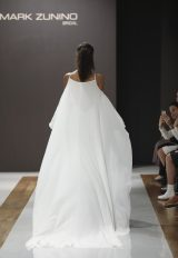 Halter Neckline Sheath Wedding Dress by MZ2 by Mark Zunino - Image 2