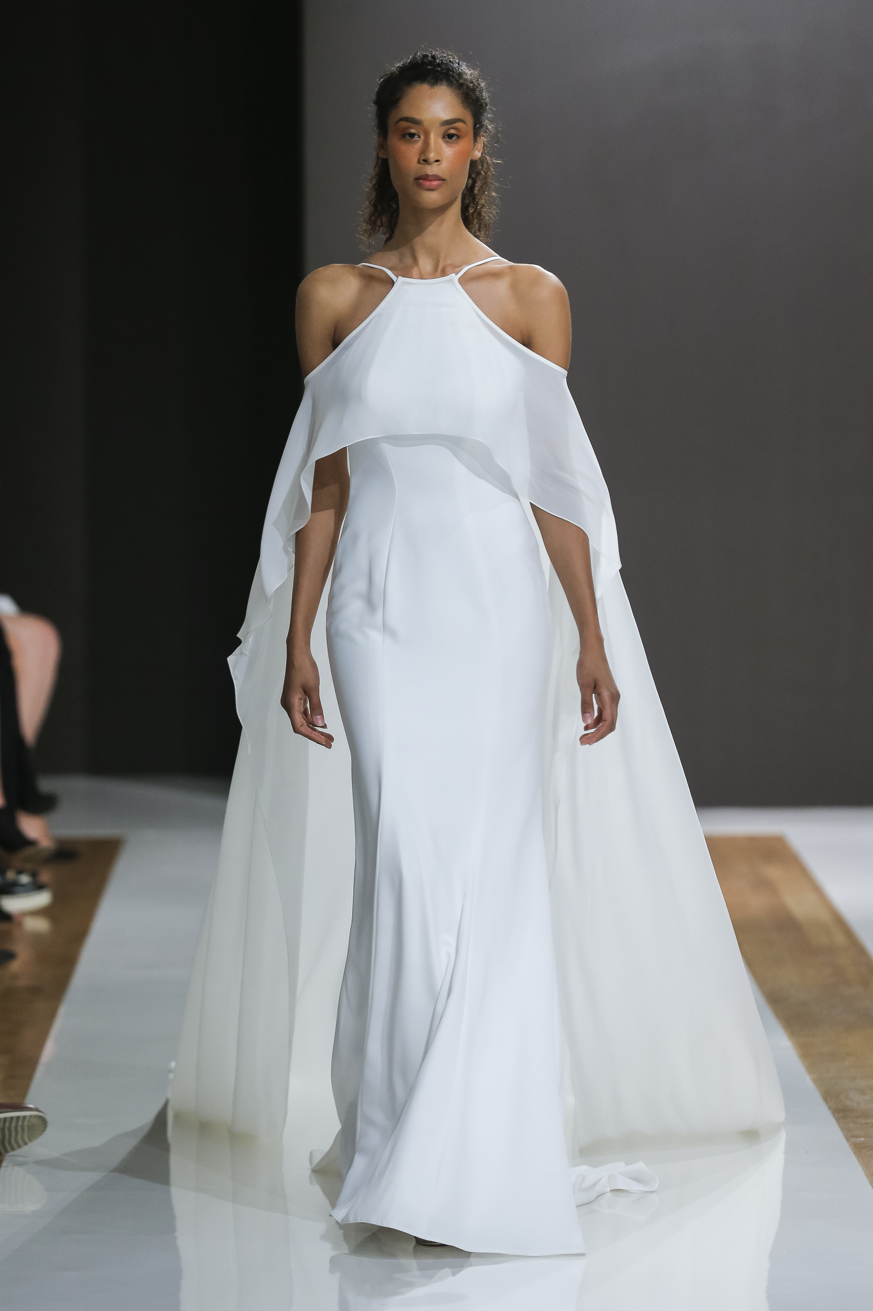 Halter Neckline Sheath Wedding Dress | Kleinfeld Bridal