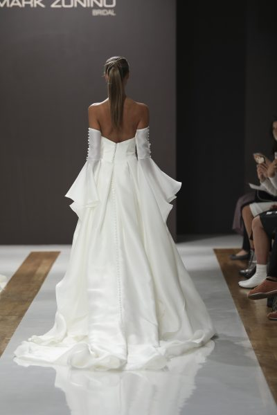 Strapless Natural Waist Ball Gown Wedding Dress by MZ2 by Mark Zunino - Image 2