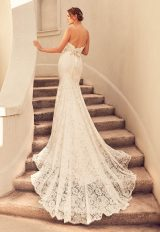 Fully Laced Swetheart Neckline Fit And Flare Wedding Dress by Paloma Blanca - Image 2