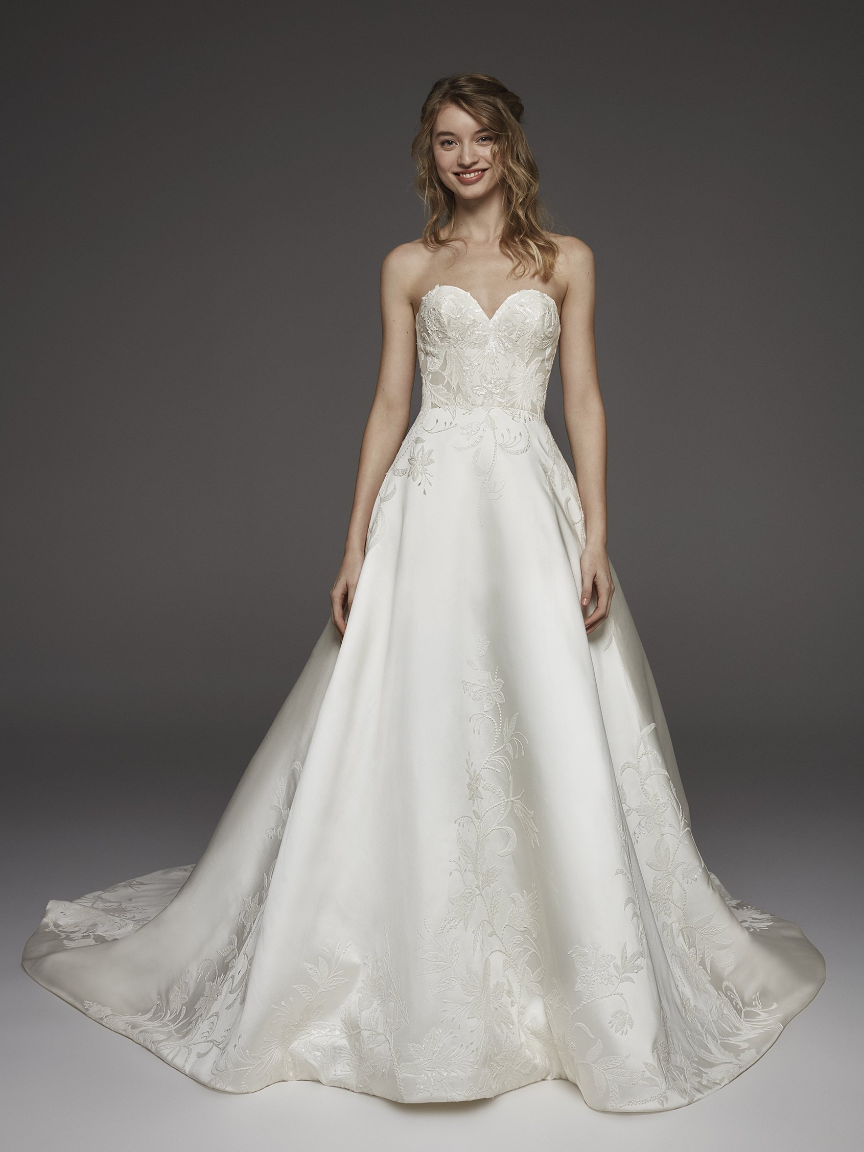 Pronovias Organza Wedding Dress