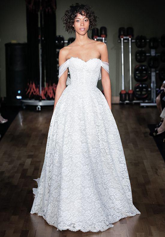 Full Lace Sweetheart Neck Ball Gown Wedding Dress   Kleinfeld Bridal