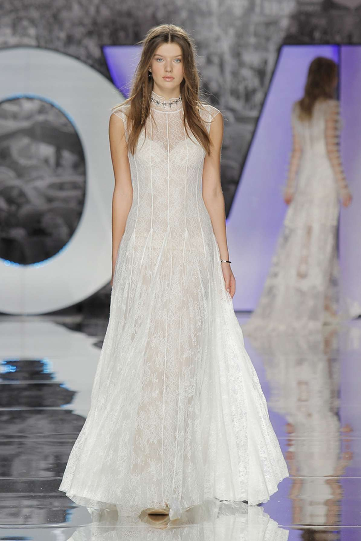 Cap Sleeve Full Lace Fit And Flare Wedding Dress | Kleinfeld Bridal