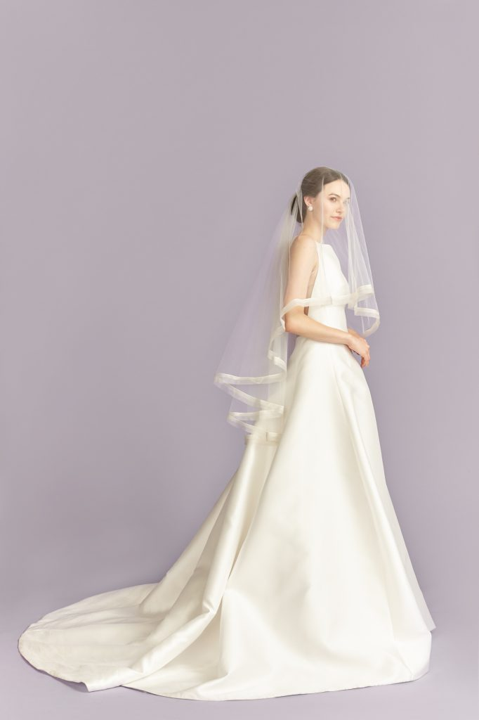 Two tier veil Kleinfeld 2