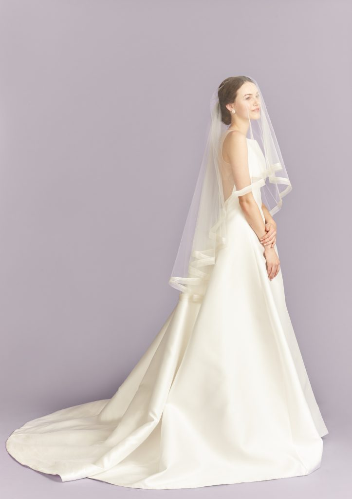 Two tier veil Kleinfeld 1