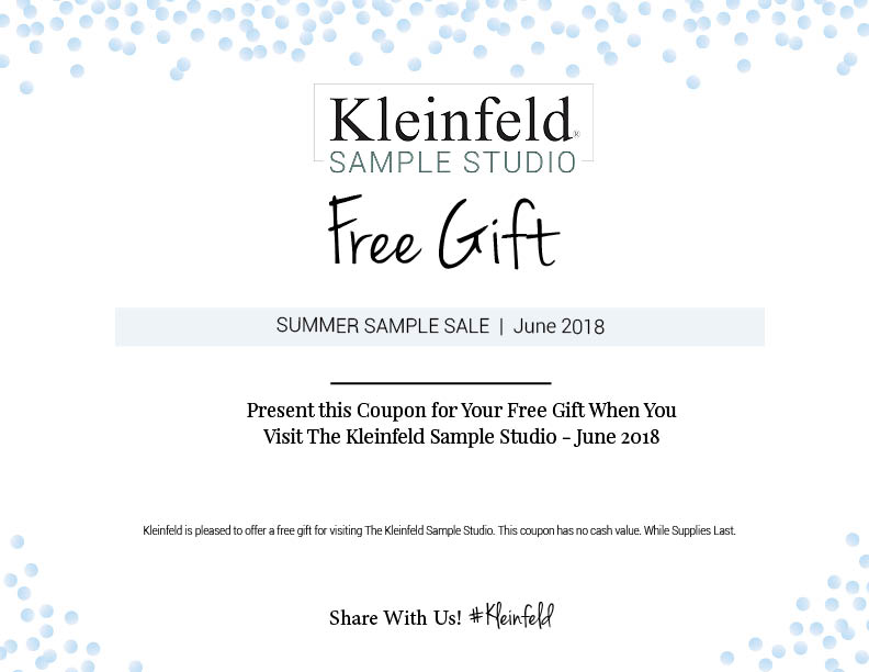 Summer Sample Sale 2018 Kleinfeld Bridal