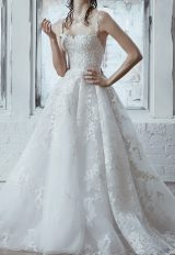 Ball Gown With Floral Embroidery Throughout by Isabelle Armstrong - Image 1