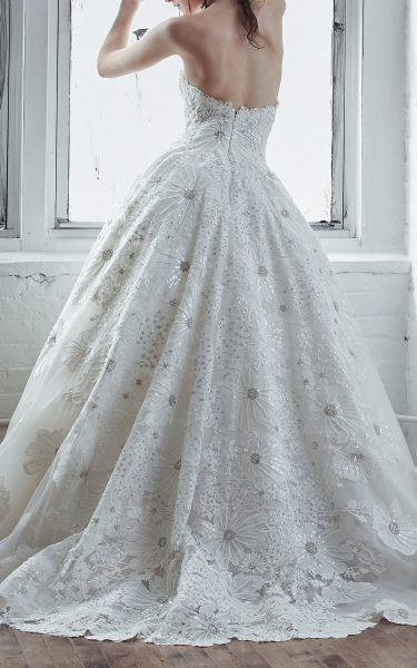 Strapless Ball Gown With Beaded Embroidery by Isabelle Armstrong - Image 2