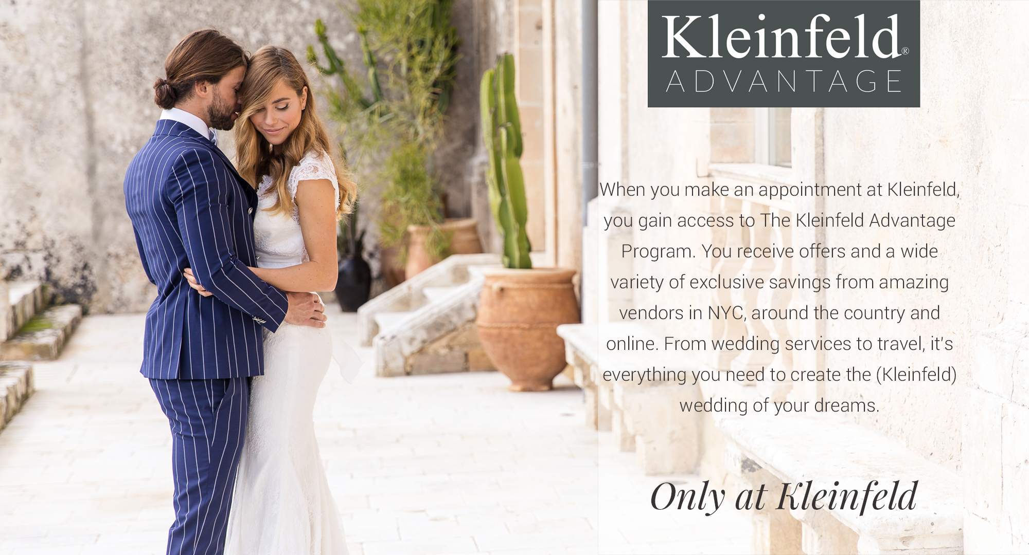 kleinfeld advantage main page header