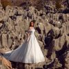 Off The Shoulder Ball Gown Wedding Dress With Beading And Swarovski Crystals. by Tony Ward - Image 1