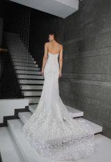 Sweetheart Neckline Strapless Beaded Wedding Dress by Tony Ward - Image 2